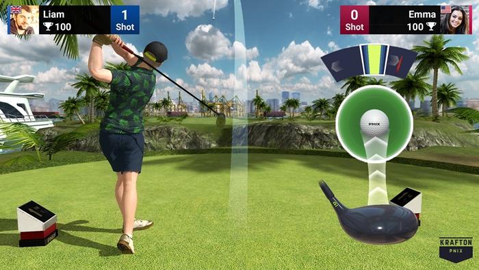 골프킹 플레이 화면